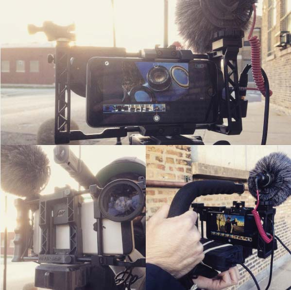 beastgrip rig powered filmakr iphone app rodemic rode videomicro sc6 adapter mobile video rig photo