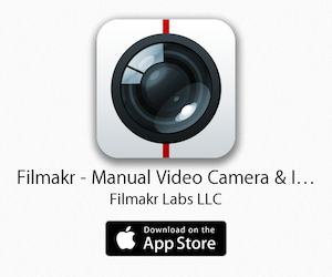 filmakr-app icon-video-camera-app-manual-instant-editor-editing-filmmaker-iphone-ipad-white-banner-ad-advertising-image