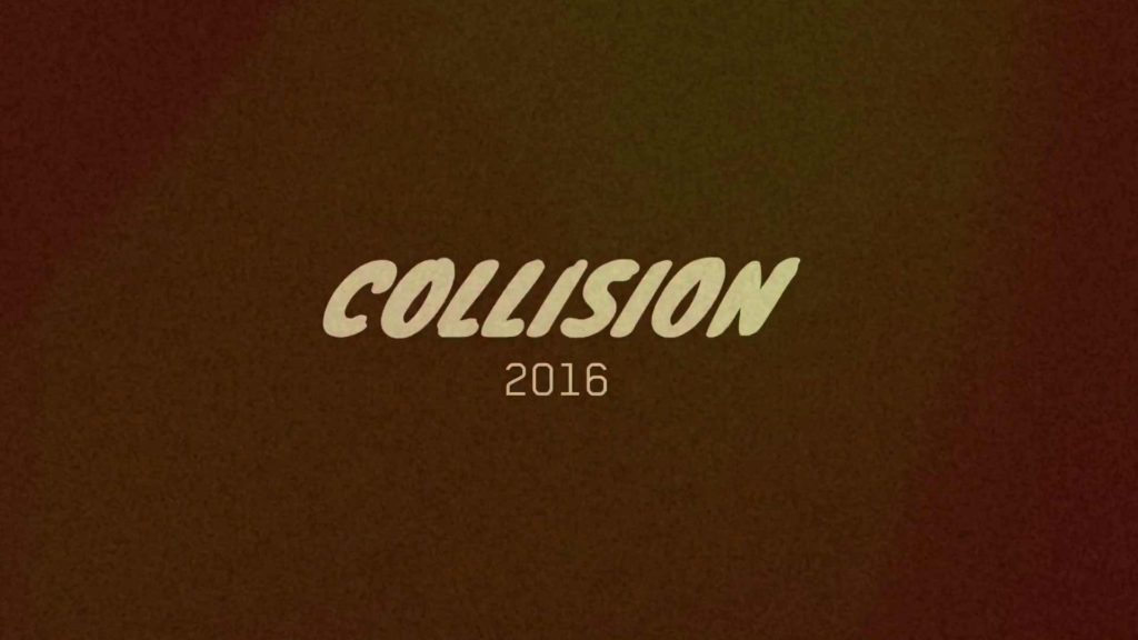 intro bumper collision conference animation type text titles video filmakr image