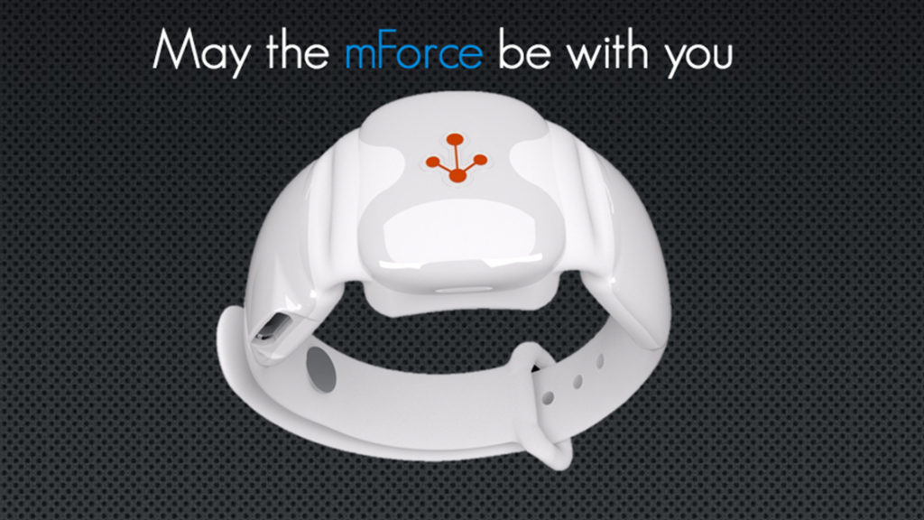 metronforce wristband remote control may the force be with you iot internet of things tech technology image