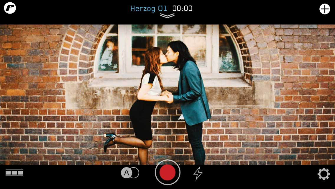 quick start herzog preset wedding day kuras filter camera settings kiss asian couple bow tie flowers filmstrip make instructions tutorial ui ux user experience iphone tutorial manual how to image