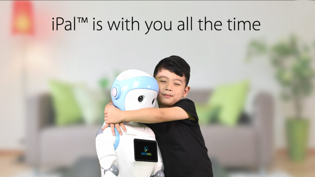 robot companion kids hug ipal avatarmind learning technology image